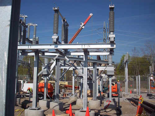 380/220/115/13.8 KV Substation Construction